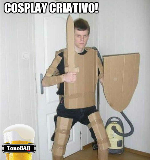 papelo improviso improvisado imagens engraadas foto criativo cosplay brasileiro  piada 2  Fotos de Cosplay   Veja aqui